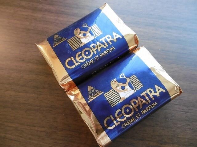 石鹸 クレオパトラ 今月、ドバイ旅行に行きます。そこでクレオパトラ石鹸を買いたいと思って